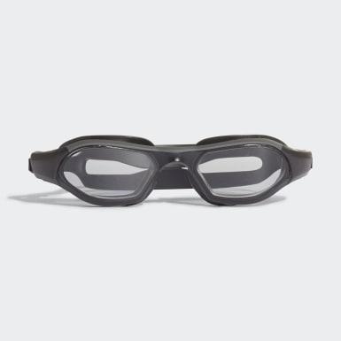 Børn Svømning Grå Persistar 180 Unmirrored svømmebriller, juniorstørrelse