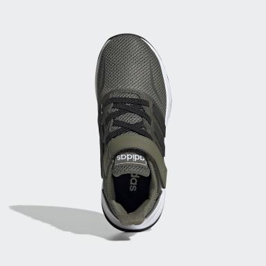 Chaussure Run Falcon Vert Enfants Running