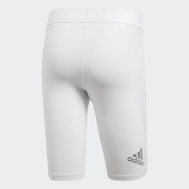 Tight Alphaskin Sport Short Blanc Hommes HIIT