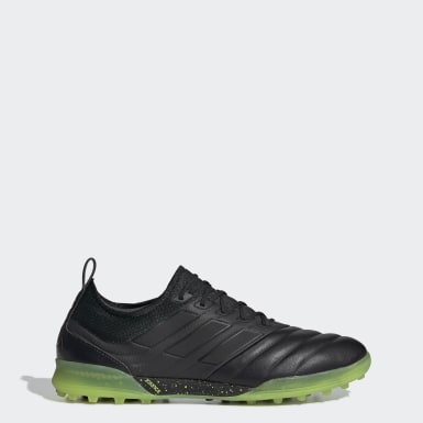 Football Black Copa 19.1 Turf Boots