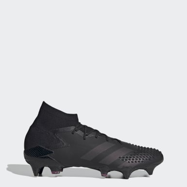 Football Black Predator Mutator 20.1 Soft Ground Boots