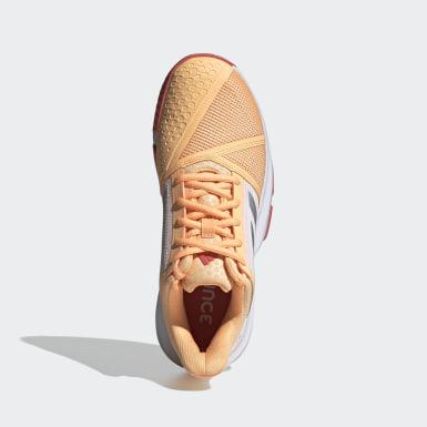 Frauen Tennis CourtJam Bounce Schuh Orange