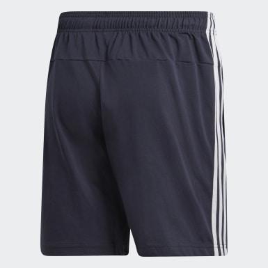 Shorts Essentials 3 Tiras Azul Hombre Training
