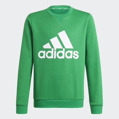 Boys Sport Inspired Green Essentials Sweatshirt