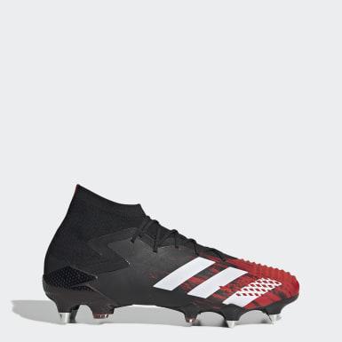 Zapatos de fútbol Predator Mutator 20.1 césped natural húmedo Negro Hombre Fútbol
