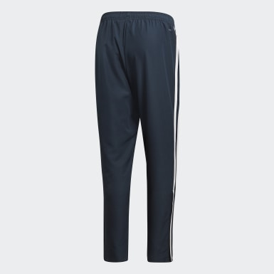 Men Football Blue Real Madrid Downtime Tracksuit Bottoms