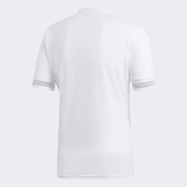 Camiseta segunda equipación All Blacks Blanco Hombre Rugby