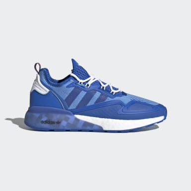 Sapatos ZX 2K Boost Ninja Azul Originals