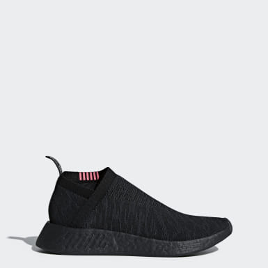 Men Originals Black NMD_CS2 Primeknit Shoes