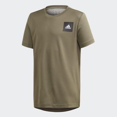 Boys Training Green AEROREADY Tee