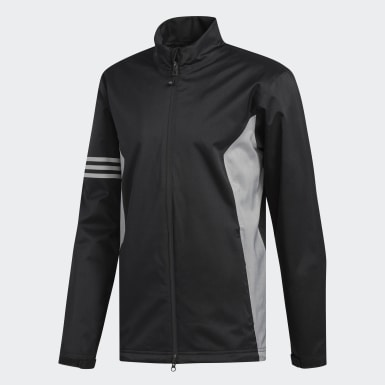 Men Golf Black Climaproof Jacket