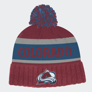 Men's Training Multicolor Avalanche Cuffed Knit Pom Hat