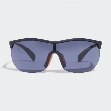 Padel Tennis Black SP0003 Shiny Black Injected Sport Sunglasses