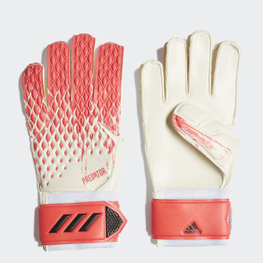 Soccer White Predator 20 Match Gloves