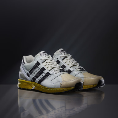 Men Originals White ZX 8000 Superstar Shoes