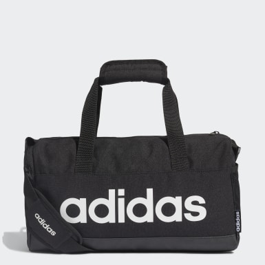 Lifestyle Black Linear Duffel Bag