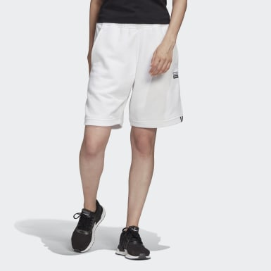 Short Blanc Femmes Originals