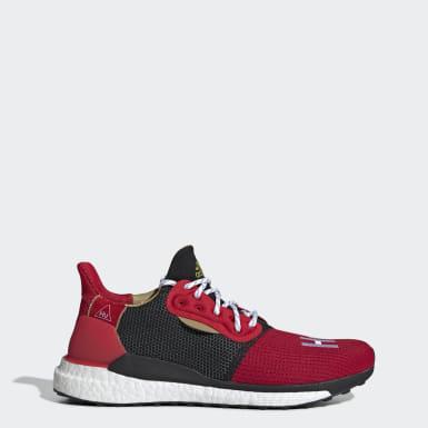 Originals Red CNY Solar Hu Glide Shoes