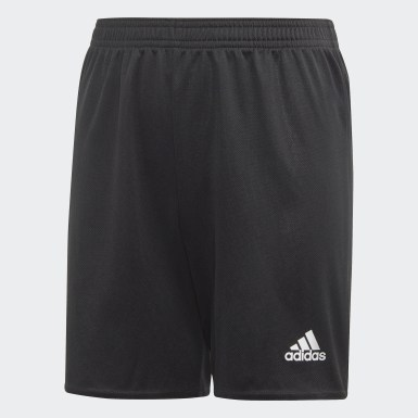 Boys Football Black Estro 19 Shorts