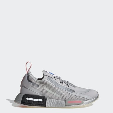 Tenis NMD_R1 Spectoo Gris Mujer Originals