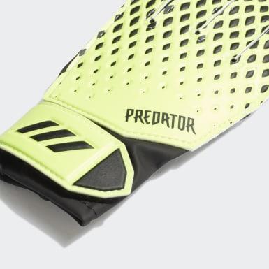 Kids Football Green Predator 20 Training Gloves