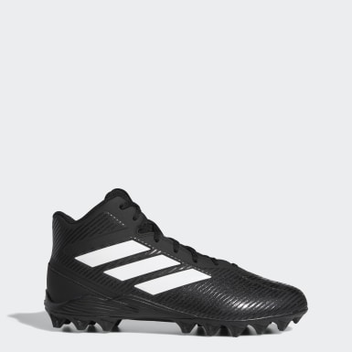 Men's Football Black Freak Mid Molded Cleats