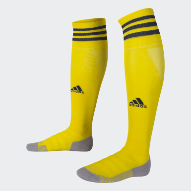 Football Yellow AdiSocks Knee Socks