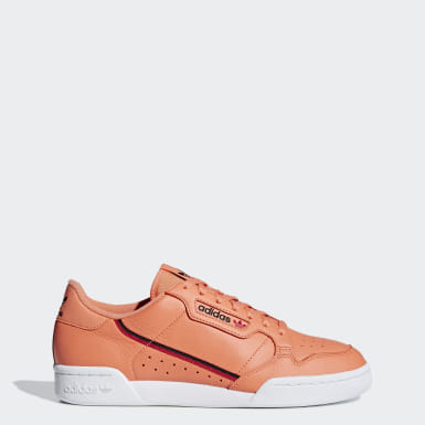 Women Originals Orange Continental 80 Shoes