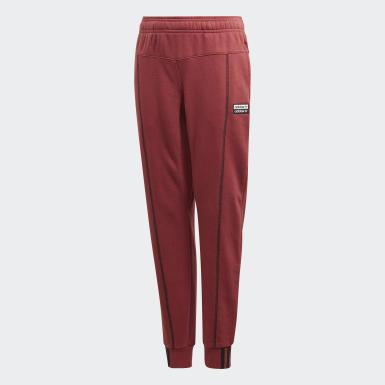 Pantaloni R.Y.V. Rosso Bambini Originals