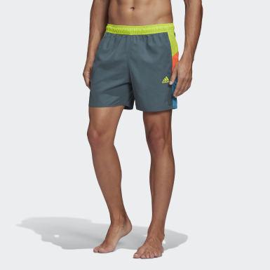 Shorts de Natación Colorblock CLX Azul Hombre Natación