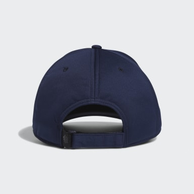 Men Golf Blue Quilted Cap