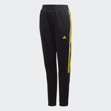 Boys Training Black Tiro Tracksuit Bottoms