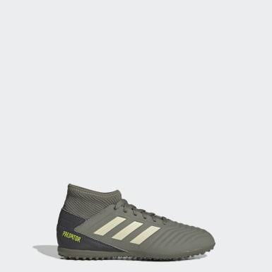 Zapatos de Fútbol Predator Tango 19.3 Césped Artificial Verde Niño Fútbol