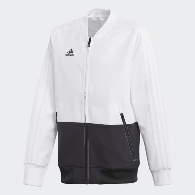 Kids Training White Condivo 18 Presentation Jacket