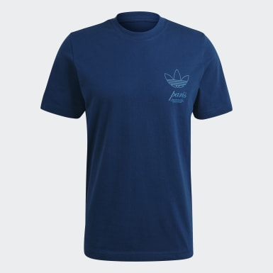 Originals modrá Tričko