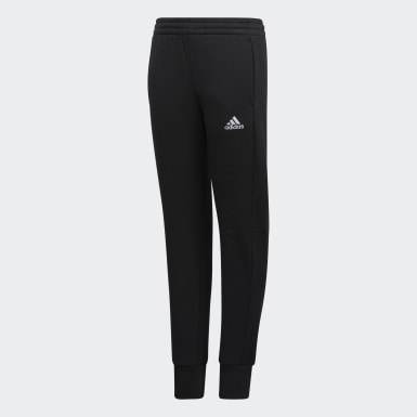 Youth Training Black Badge of Sport 3-Stripes Joggers