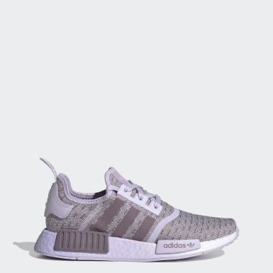 Women Originals Purple NMD_R1 Shoes