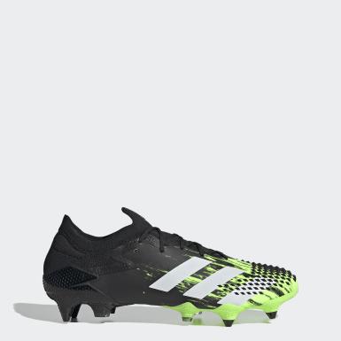 Bota de fútbol Predator Mutator 20.1 césped natural húmedo Verde Hombre Fútbol