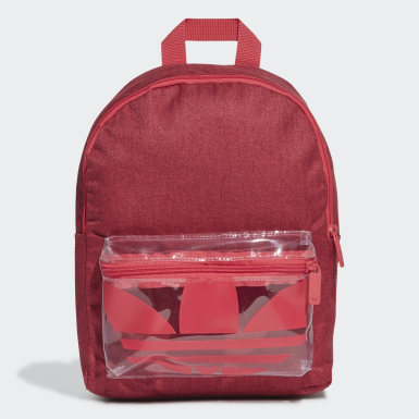 Adicolor Classic Backpack Small Czerwony