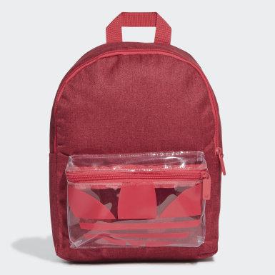 Originals Rød Adicolor Classic rygsæk, small