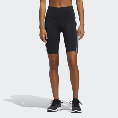 Women Training Black Believe These 2.0 3-Stripes Short Tights