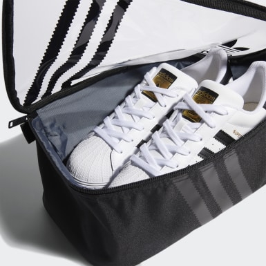 Clear 3-Stripes Shoe Bag