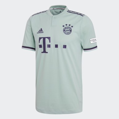 Muži Fotbal zelená Dres FC Bayern Away Authentic