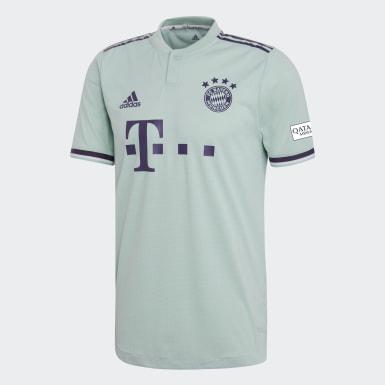 Herr Fotboll Grön FC Bayern München Authentic Bortatröja