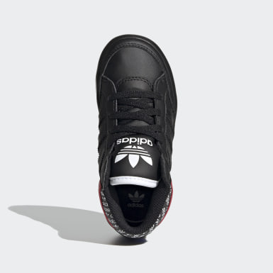 Kinder Originals HARD COURT HI I Schwarz