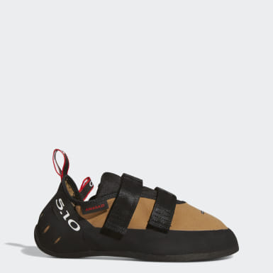 Scarpe da climbing Five Ten Anasazi Hook and Loop Marrone Five Ten