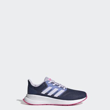 Çocuklar Koşu Mavi Runfalcon Ayakkabı