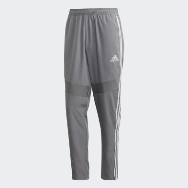 Pantalón técnico Tiro 19 Gris Hombre Fútbol