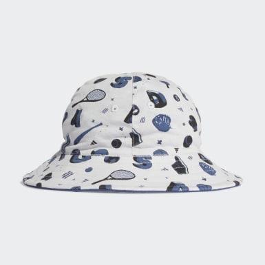 Kids Training Grey Bucket Hat
