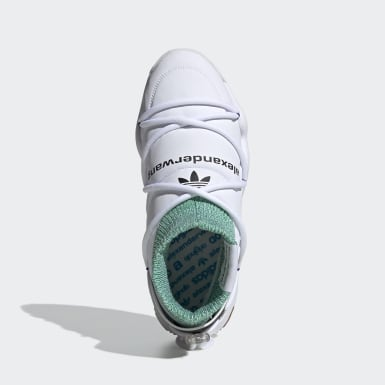 Originals White adidas Originals by AW Puff Trainer Shoes